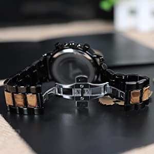 wooden watch band