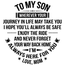 to my son love you mom