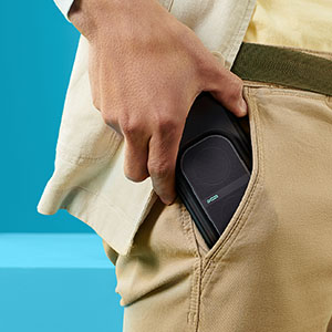 POW Mo fits in your pocket.
