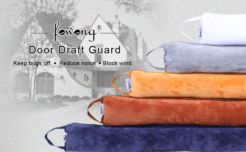 Fowong Under Door Draft Stopper 36 Inch Length Weather
