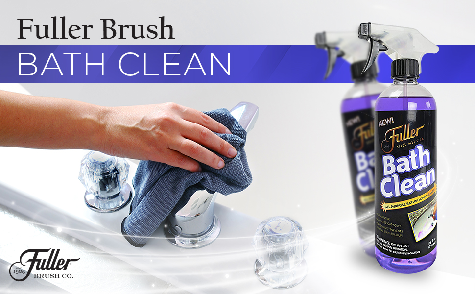 Fuller Brush BathClean Basin, Tub, and Tile Cleaner - 24 oz Refill