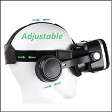 adjust the vr headset