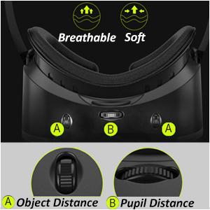 Adjustable VR headset