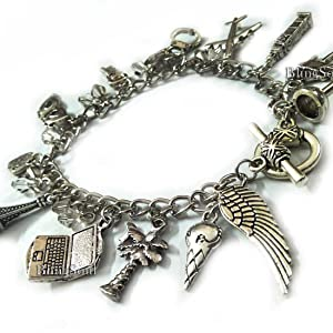 Fifty shades charm bracelet