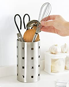Amazon Com Honla Kitchen Utensil Holder Caddy 18 10
