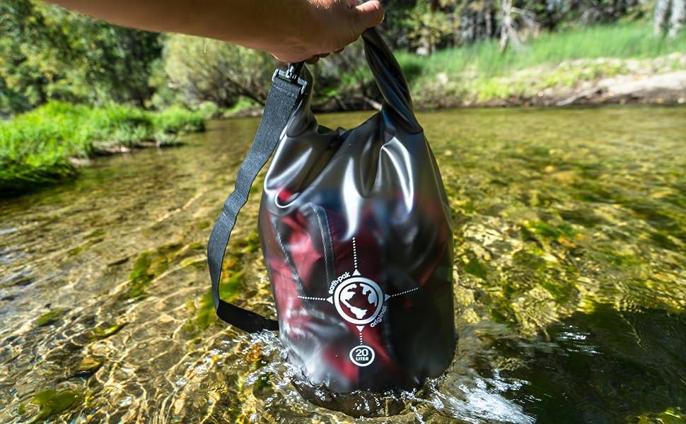 clear dry bag, waterproof bag