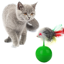 upsimples Cat Toys Including Cat Teaser Wand Interactive Feather Toy Fluffy Mouse Mylar Crinkle Balls Catnip Pillow for Kitten Kitty 20