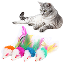 upsimples Cat Toys Including Cat Teaser Wand Interactive Feather Toy Fluffy Mouse Mylar Crinkle Balls Catnip Pillow for Kitten Kitty 22