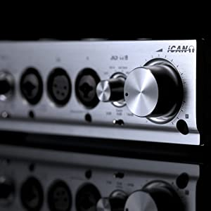 Home//Professional Audio Upgrade iFi Pro iCAN Studio Grade Fully Balanced Headphone Amplifier//Line Level Pre amplifier//Linestage with Selectable Tube and Solid State