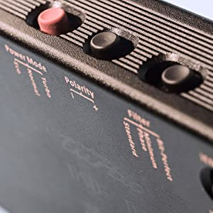 image of side switches on micro black label