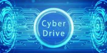 Cyber Drive Graphic