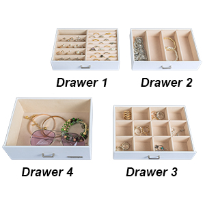 Maximum Jewelry Storage