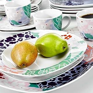 30-Piece Ceramic Dinnerware Set