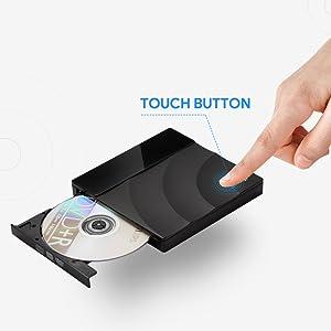 USB 2.0 External CD//DVD Drive for Compaq presario c768ca