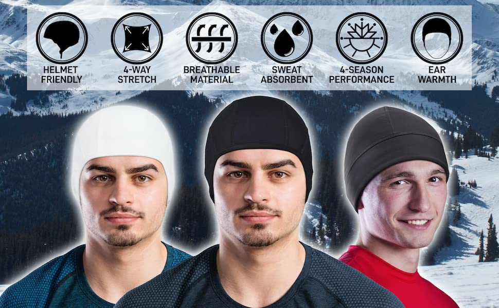 ponytail hair bands head wraps hat men girls skull caps bandana outdoor outdoors sporty cool dri