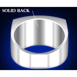 solid back