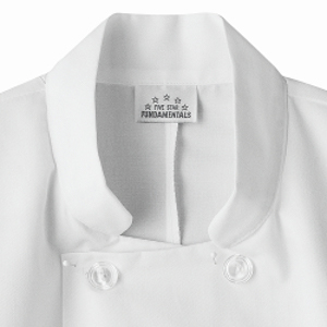Five Star Chef Apparel 18001 Unisex Chef Jacket Short Sleeve Restaurant Uniforms Chef Fashion