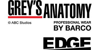 Grey's Anatomy Edge Professional Wear by Barco Logo