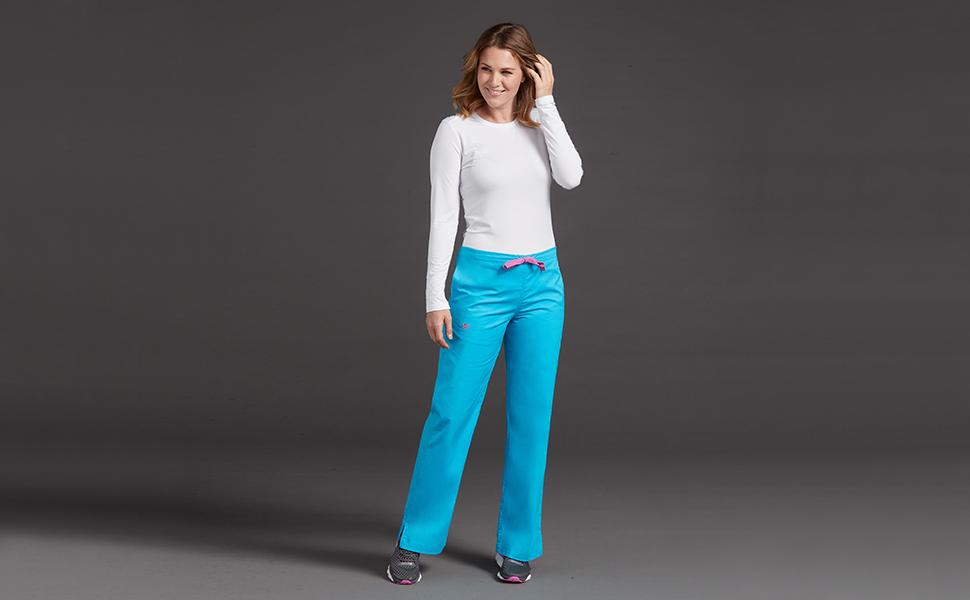 ae5aee3ffed Med Couture Signature 8705 Women's Scrub Pant Back Elastic Medical  Healthcare Uniforms Fashion