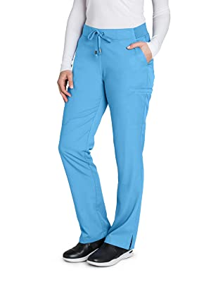 9151ea91e49 Barco Grey's Anatomy 4277 Women's Scrub Pant Cargo Medical Healthcare  Uniforms Fashion
