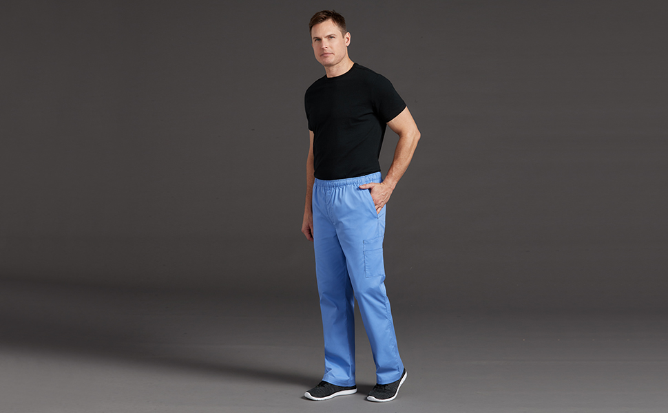 d8f4cef4768 Med Couture MC2 8702 Men's Scrub Pant Cargo Medical Healthcare Uniforms  Fashion