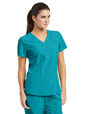ddfa84484b7 Barco One 5105 Women's Scrub Top Perforated Medical Healthcare Uniforms  Fashion
