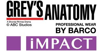 Barco Grey's Anatomy Impact Scrubs Logo