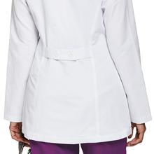 Loose adjustable back belt shown on Barco Grey's Anatomy 4455 Women's 30quot; Labcoat
