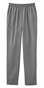 Five Star Chef Apparel 18100 Unisex Chef Pant Pull-On Restaurant Uniforms Chef Fashion