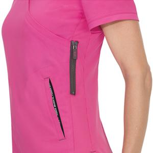 dd3618a4a61 koi Lite 316 Women's Scrub Top Mock Wrap Medical Healthcare Uniforms Fashion