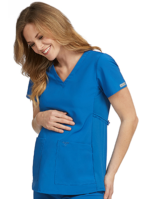 50f51096b91 Med Couture Activate 8459 Women's Scrub Top Maternity Medical Healthcare  Uniforms Fashion