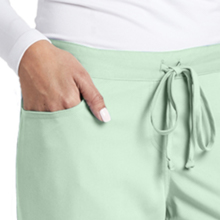 Front pockets and front tie close-up on Barco Grey's Anatomy 4232 Women's Drawstring Scrub Pant