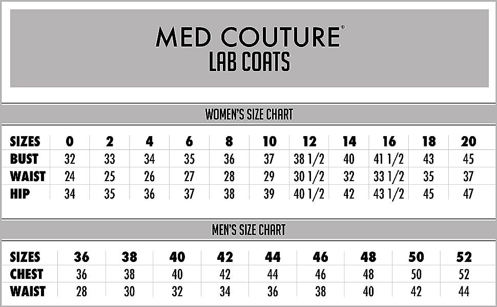 06d71707613 Amazon.com: Med Couture Women's Lab Coat 37 inch White Labcoat Long ...