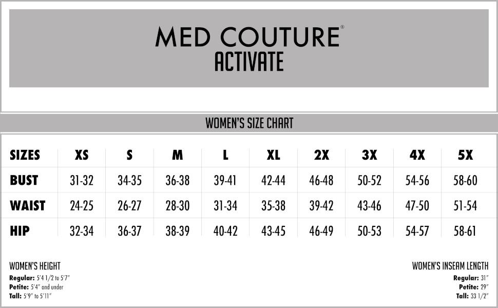 b488f5c27a4 Amazon.com: Med Couture Women's 'Activate' Hi-Definition Cargo Scrub ...