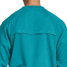 Open back yoke vent shown on Grey's Anatomy 0406 Men's Raglan Warm Up Scrub Jacket