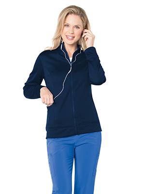 Landau Urbane Performance 9872 Women's Scrub Jacket Warm Up Medical Healthcare Uniforms Fashion