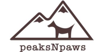 peaksNpaws logo