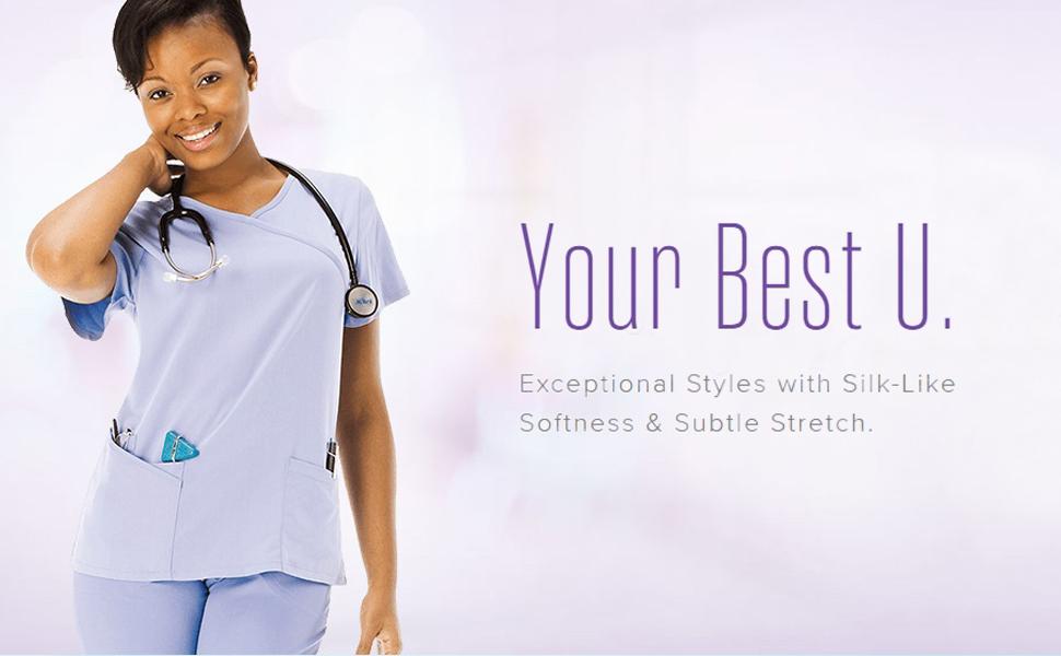 Landau Urbane Utimate Scrubs Medical Healthcare Uniforms Fashion