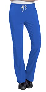Landau Urbane Performance 9312 Women's Scrub Pant Cargo Medical Healthcare Uniforms Fashion