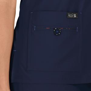 Koi Basics 373 Women's Scrub Top V-Neck Medical Healthcare Uniforms Fashion