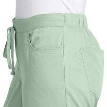 Drawstring waistband with elastic back shown on Barco Grey's Anatomy 4232 Women's Scrub Pant