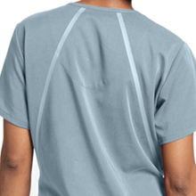 Barco tape detail close-up on Barco Grey's Anatomy 7188 Women's V-neck Scrub Top