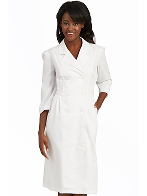 4c35591e7bf Med Couture Lab Wear 1165 Women s Scrub Dress Medical Healthcare Uniforms  Fashion