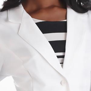 White Swan Meta Pro 824 Women's Lab Coat Consultation Medical Healthcare Uniforms Fashion