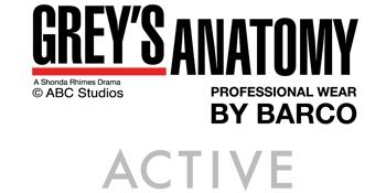 Barco Grey's Anatomy Active Scrubs Logo