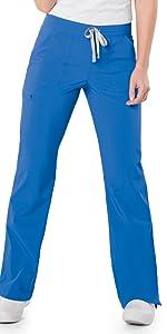 Landau Urbane Performance 9733 Women's Scrub Pant Straight Leg Medical Healthcare Uniforms Fashion