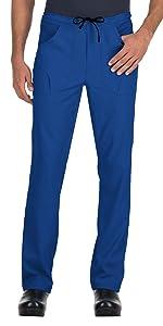 model wearing Men's Lite Endurance Scrub Pant