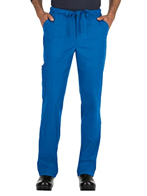 koi Stretch 604 Men's Scrub Pant Drawstring Medical Healthcare Uniforms Fashion