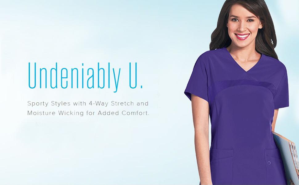 Landau Urbane Performance Scrubs Medical Healthcare Uniforms Fashion