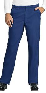 model wearing Men's Lite Discovery Scrub Pant